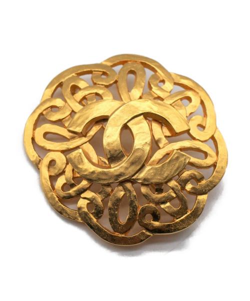 CHANEL(シャネル)CHANEL (シャネル) ココマークブローチ ゴールド サイズ:-の古着・服飾アイテム