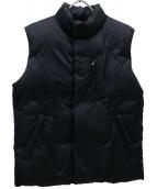 JAMES PERSE(ジェームスパース)の古着「中綿ベスト」|ブラック