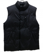 JAMES PERSE(ジェームスパース)の古着「中綿ベスト」 ブラック