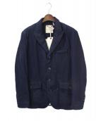 MONCLER V(モンクレールブイ)の古着「KAMUI / テーラードジャケット」|ネイビー