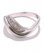 NO BRAND JEWELRY(ノーブランドジュエリー)の古着「PTダイヤモンドリング」