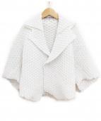 ISSEY MIYAKE(イッセイミヤケ)の古着「プリーツジャケット」|ホワイト