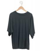 MUSE de Deuxieme Classe(ミューズデドゥーズィエム クラス)の古着「ワイドスリーブTシャツ」|ブラック