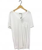 T by ALEXANDER WANG(ティーバイアレキサンダーワン)の古着「ポケットTシャツ」|ホワイト