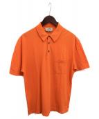 HERMES(エルメス)の古着「ポロシャツ」|オレンジ