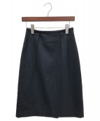 JIL SANDER(ジルサンダー)の古着「タイトスカート」|ネイビー