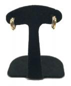 Cartier(カルティエ)の古着「ハーフフープトリニティピアス」