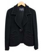 CHANEL(シャネル)の古着「スカートスーツ」|ブラック