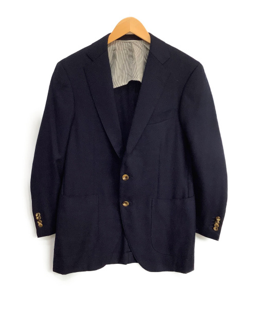 TOMORROW LAND(トゥモローランド)TOMORROW LAND (トゥモローランド) テーラードジャケット ネイビー サイズ:46の古着・服飾アイテム