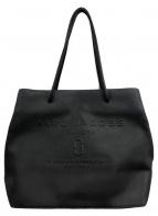 MARC JACOBS(マークジェイコブス)の古着「ロゴショッパートートバッグ」|ブラック
