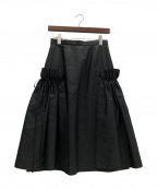 ADEAM(アディアム)の古着「スカート」|ブラック