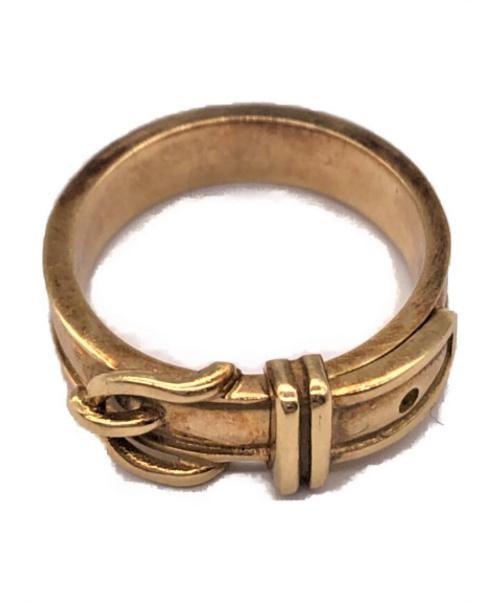 HERMES(エルメス)HERMES (エルメス) ベルトモチーフリング サイズ:51 750 6.3gの古着・服飾アイテム