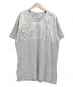 Maison Margiela()の古着「エイズTシャツ」 グレー