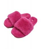 UGG(アグ)の古着「COZETTE ファー スライド サンダル」|ピンク