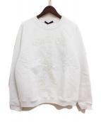 LOUIS VUITTON(ルイヴィトン)の古着「19SS オズの魔法使い刺繍スウェット」 ホワイト