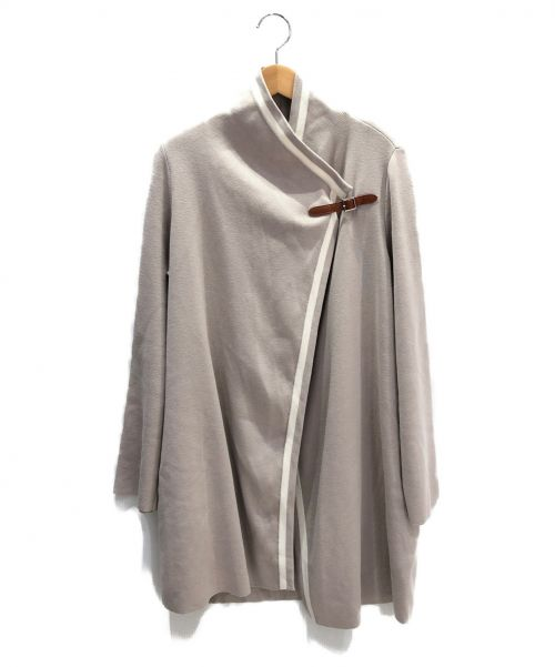 FOXEY(フォクシー)FOXEY (フォクシー) Modern Tradロングカーディガン ベージュ サイズ:FREE 未使用品の古着・服飾アイテム