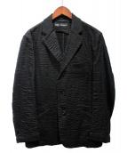 ISSEY MIYAKE(イッセイミヤケ)の古着「シアサッカースーツ」|ブラック