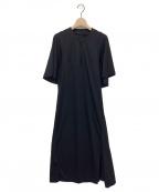 kei shirahata(ケイシラハタ)の古着「ワンピース」 ブラック