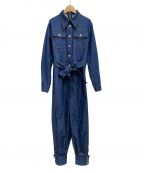 GUCCI()の古着「20SS Denim Belted Jumpsuit」|インディゴ