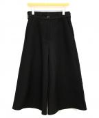 MM6(エムエムシックス)の古着「ワイドパンツ」|ブラック