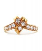 Christian Dior(クリスチャンディオール)の古着「ダイヤモンドリング」