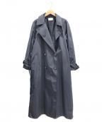 THE ROW(ザ ロウ)の古着「ナイロントレンチコート」|ネイビー
