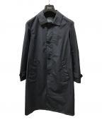 HERNO(ヘルノ)の古着「ステンカラーコート」|ネイビー