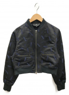 LANVIN(ランバン)の古着「ジャケット」|ネイビー×ブラック