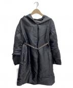 S Max Mara(エスマックスマーラ)の古着「リバーシブルナイロンコート」 ブラック