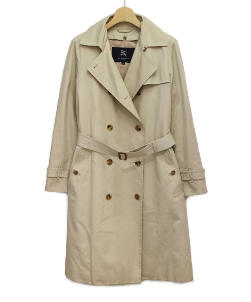 BURBERRY LONDON(バーバリーロンドン)BURBERRY LONDON (バーバリーロンドン) ノヴァチェックライナー付きトレンチコート ベージュ サイズ:40の古着・服飾アイテム