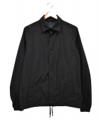 HERNO(ヘルノ)の古着「別注 GORE WINDSTOPPER コーチジャケット」|ブラック