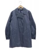 JIL SANDER(ジルサンダー)の古着「スプリングコート」|ネイビー