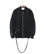 STAMPD(スタンプド)の古着「MA-1ジャケット」|ブラック