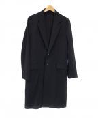 Galaabend(ガラアーベント)の古着「シェルタリングドライピケロングジャケット」|ブラック