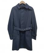 MACKINTOSH(マッキントッシュ)の古着「ステンカラーコート」|ネイビー