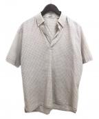 HERMES(エルメス)の古着「スキッパーシャツ」|ライトグレー