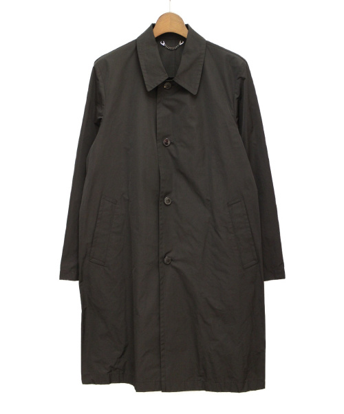 DRIES VAN NOTEN(ドリスヴァンノッテン)DRIES VAN NOTEN (ドリス ヴァン ノッテン) スプリングコート ブラック サイズ:48の古着・服飾アイテム
