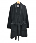 CHANEL()の古着「ココマークバスローブ」 ブラック