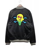()の古着「ボンバージャケット」 ブラック