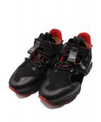 Christian Louboutin(クリスチャン ルブタン)の古着「RED RUNNER」|ブラック