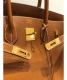 中古・古着 HERMES (エルメス) バーキン35 ゴールド サイズ:35 ゴールド金具 ヴォ―・エプソン □G刻印:898000円
