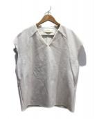CYCLAS(シクラス)の古着「ノースリーブプルオーバーシャツ」|ホワイト