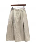 The SECRETCLOSET(ザシークレットクローゼット)の古着「ロングスカート」|ベージュ