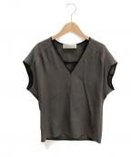 The SECRETCLOSET(ザシークレットクローゼット)の古着「プルオーバーシャツ」|オリーブ