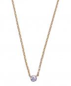 AHKAH(アーカー)の古着「ダイヤモンドネックレス」