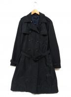 BOSS HUGO BOSS(ボスヒューゴボス)の古着「トレンチコート」|ブラック