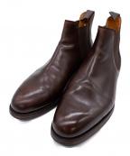 Crockett & Jones(クロケット&ジョーンズ)の古着「サイドゴアシューズ」|ブラウン