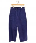 BLAMINK(ブラミンク)の古着「ワイドパンツ」|ブルー