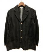 COMME des GARCONS SHIRT(コムデギャルソンシャツ)の古着「ウールジャケット」|ブラック