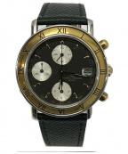 BAUME & MERCIER(ボームアンドメルシエ)の古着「ビンテージ クロノグラフ 腕時計」